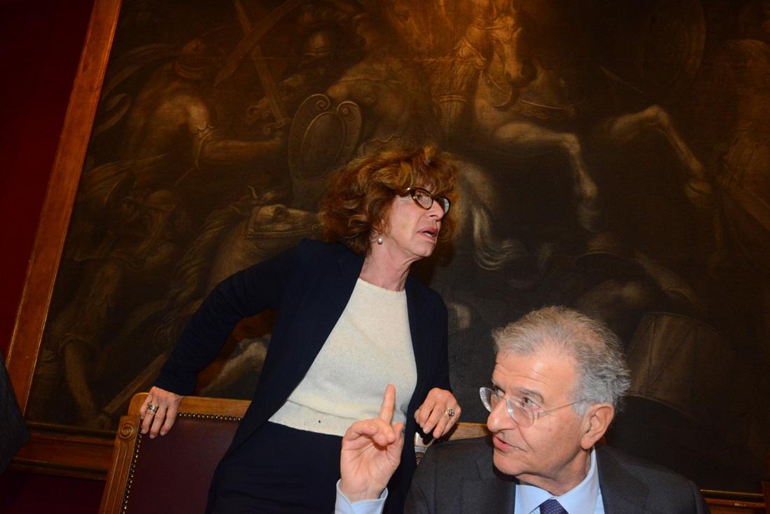 Fiamma Nirenstein e Fabrizio Cicchitto