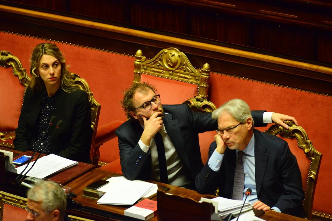 Marianna Madia, Luca Loti e Claudio De Vincenti
