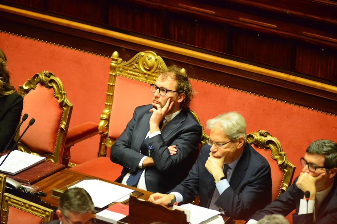 Luca Lotti e Claudio De Vincenti