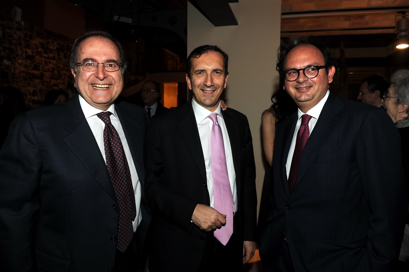 Massimo Caputi, Luigi Gubitosi e Gianluca Comin