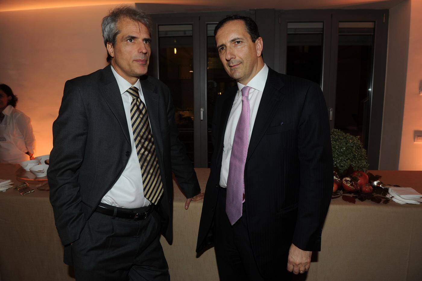 Sergio Babinot e Luigi Gubitosi