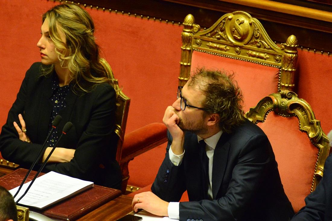 Marianna Madia e Luca Lotti