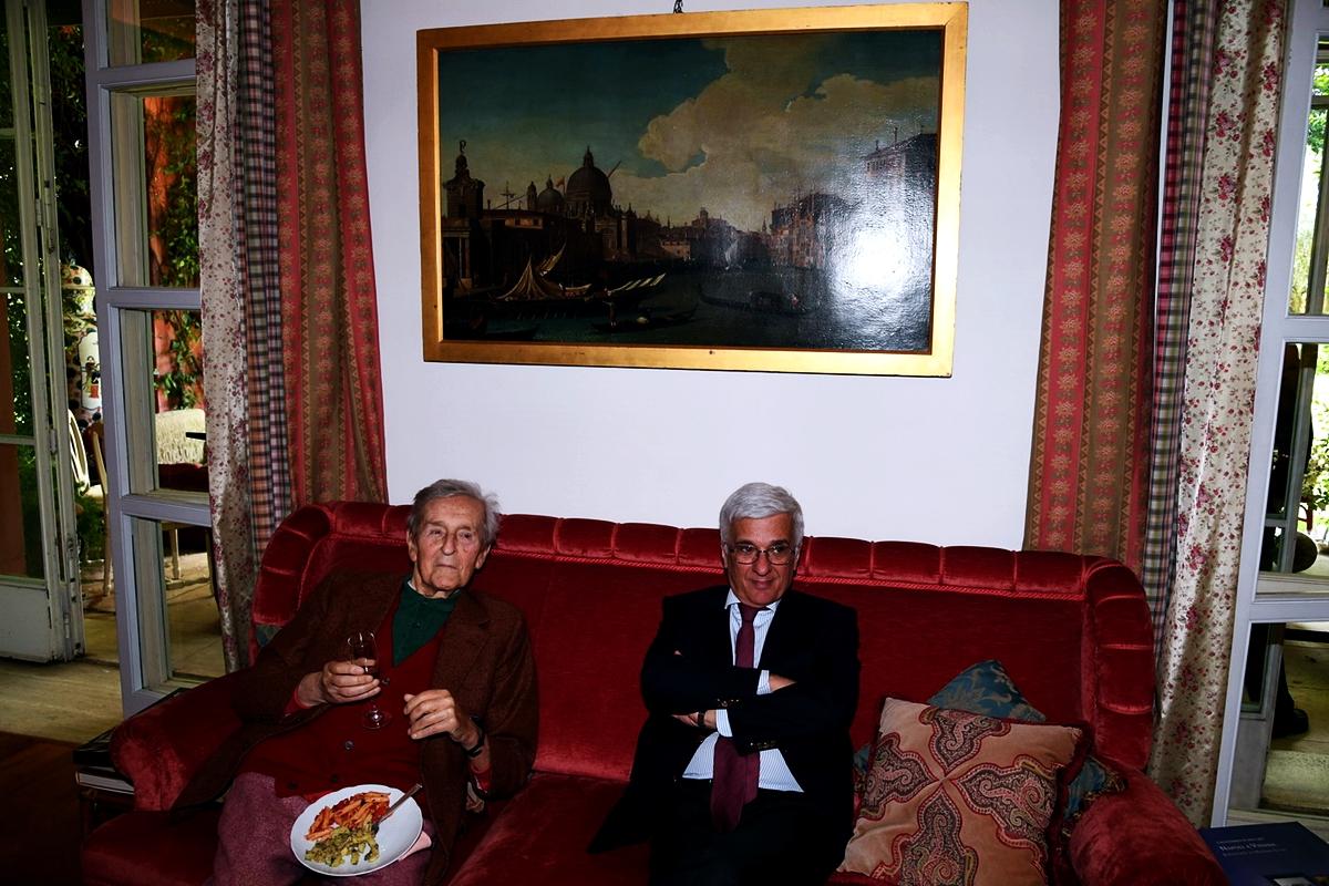 Carlo Ripa Di Meana e Luigi Chiariello