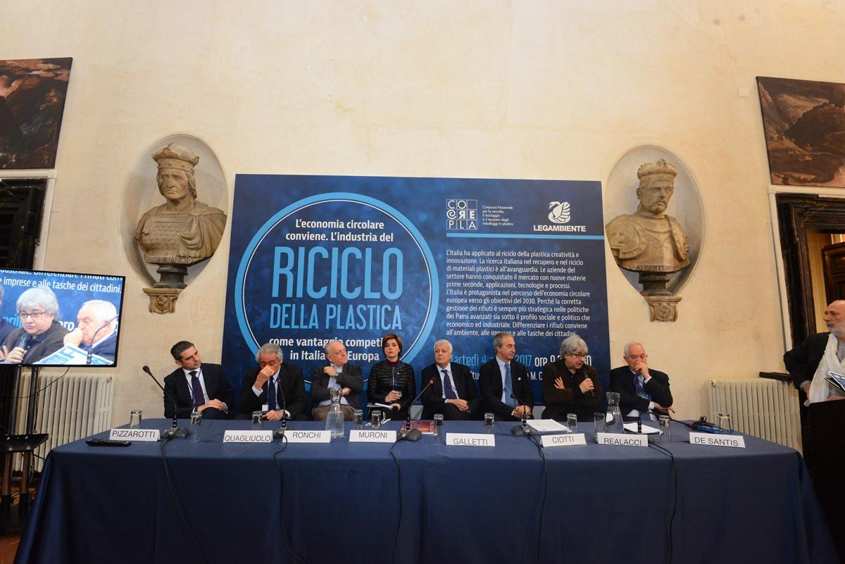 Federico Pizzarotti, Giorgio Quagliuolo, Edo Ronchi, Rossella Muroni, Gian Luca Galletti, Antonello Ciotti, Ermete Realacci e Roberto De Santis