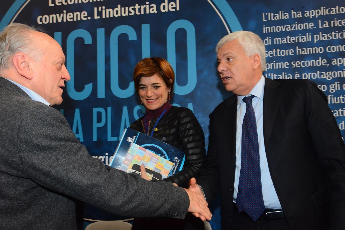 Rossella Muroni e Gian Luca Galletti
