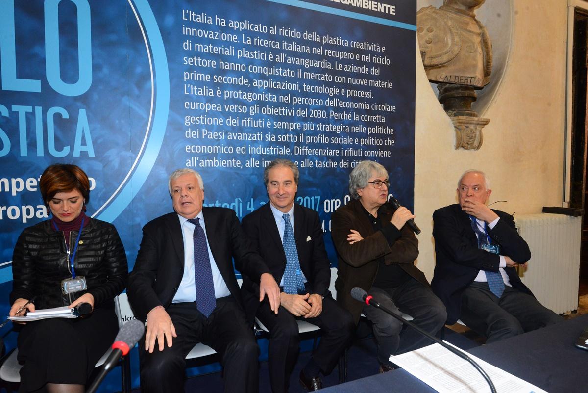 Rossella Muroni, Gian Luca Galletti, Antonello Ciotti, Ermete Realacci e Roberto De Santis