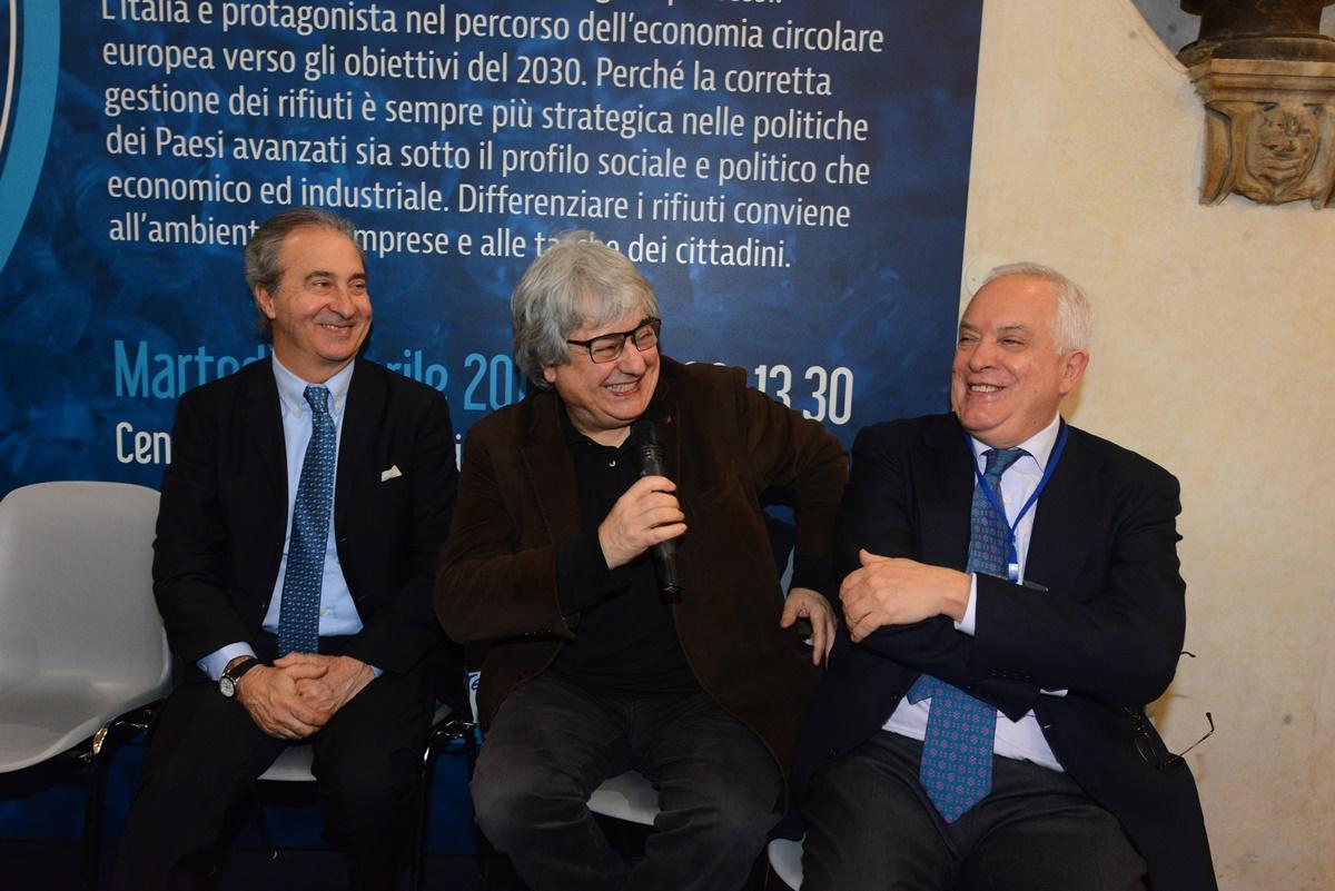 Ciotti, Realacci e De Santis