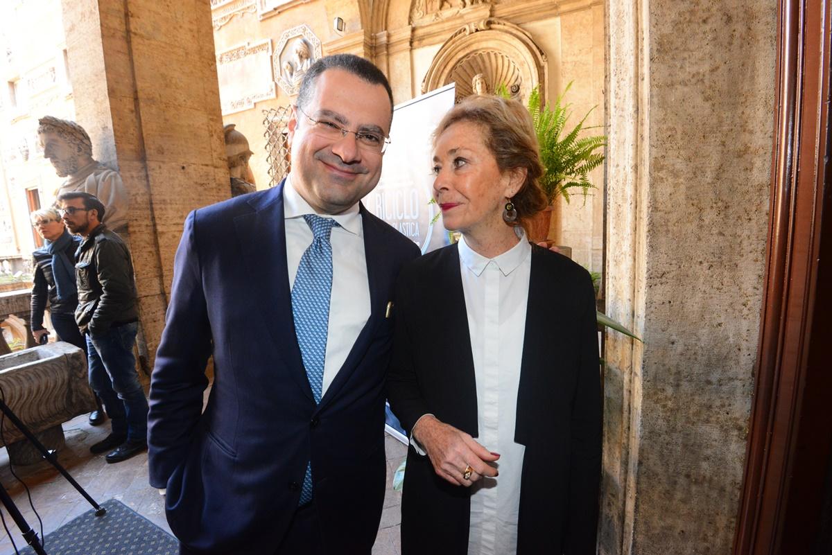 Paolo Messa e Daniela Ruggieri