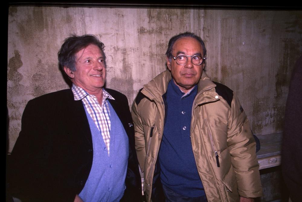 Mario Marenco e Gianni Boncompagni