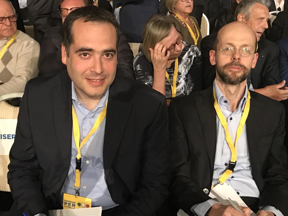 Emanuele Massagli e Riccardo Puglisi