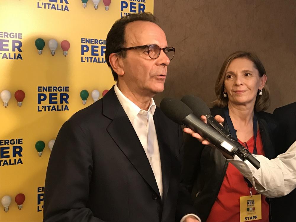 Stefano Parisi e Cinzia Messori