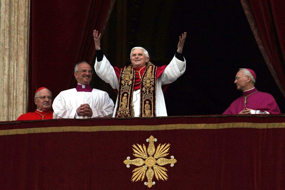 L'elezione di Benedetto XVI (2005)