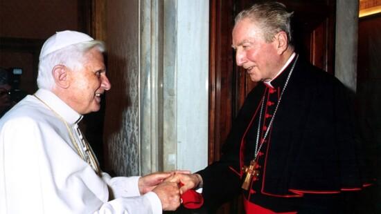 Benedetto XVI e Carlo Maria Martini (2005)