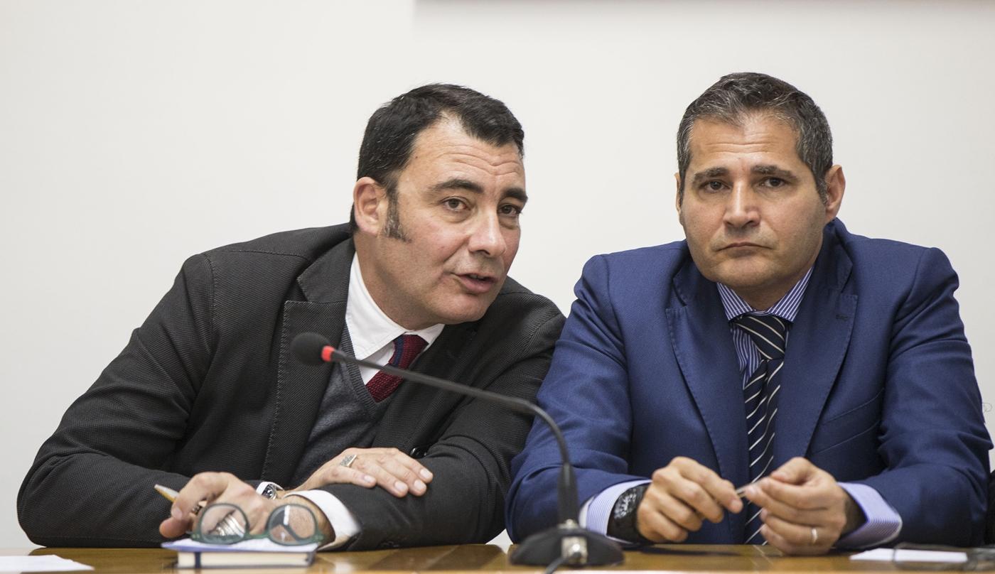 Eugenio Albamonte ed Edoardo Cilenti