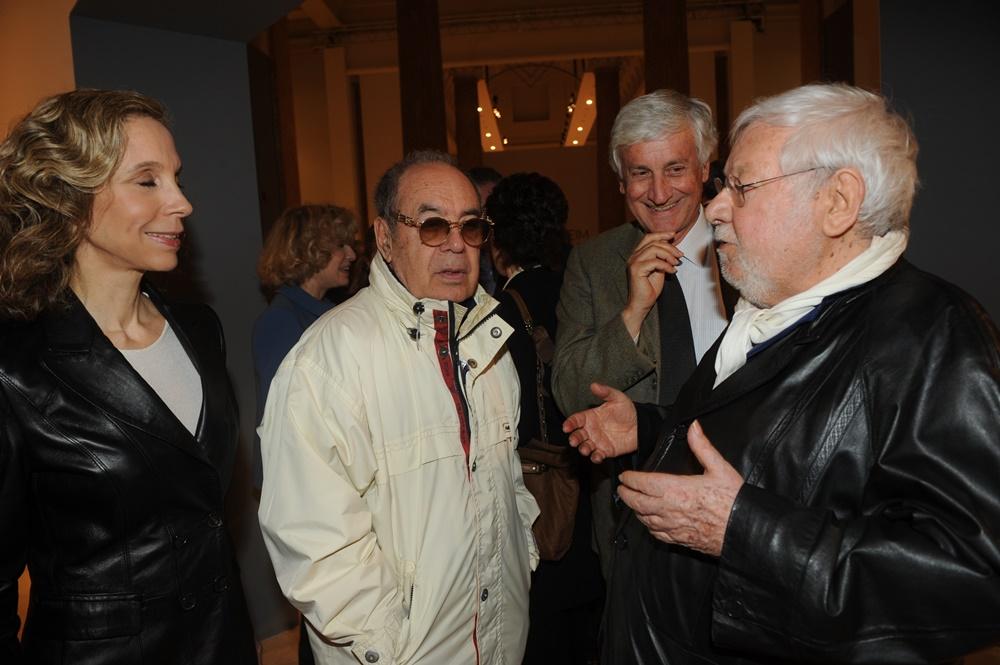 Sandra Monteleoni, Gianni Boncompagni, Paolo Villaggio e Piero Badaloni