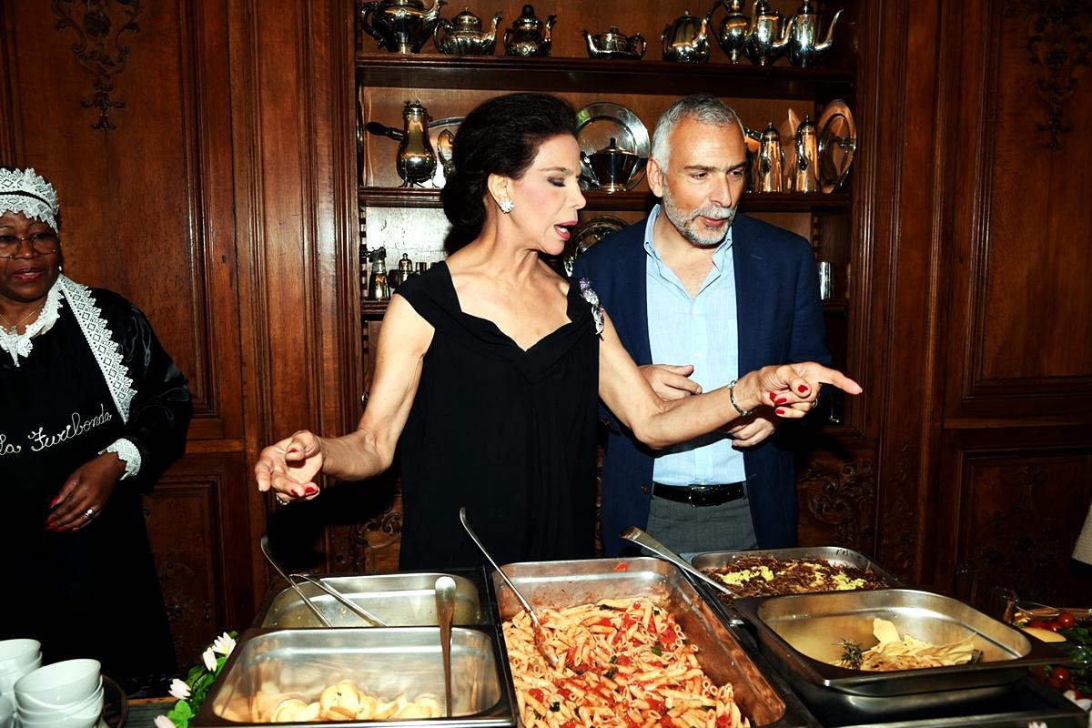 Marisela Federici e Stefano Sannino