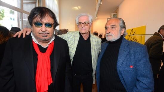 Umberto Smaila, Franco Oppini e Nini Salerno Steno