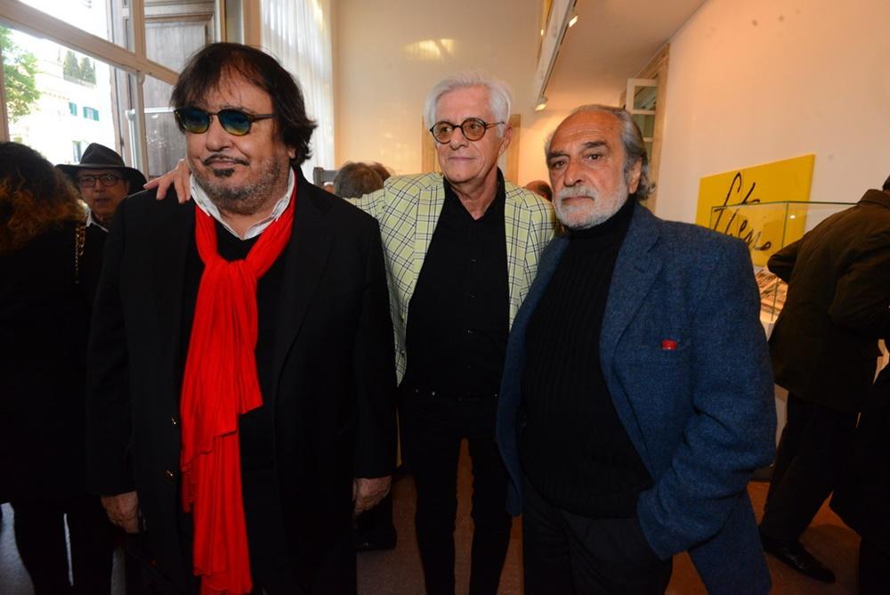 Umberto Smaila, Franco Oppini e Nini Salerno