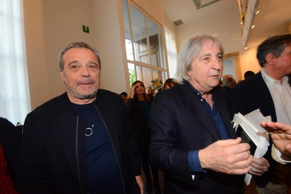 Claudio Amendola ed Enrico Vanzina