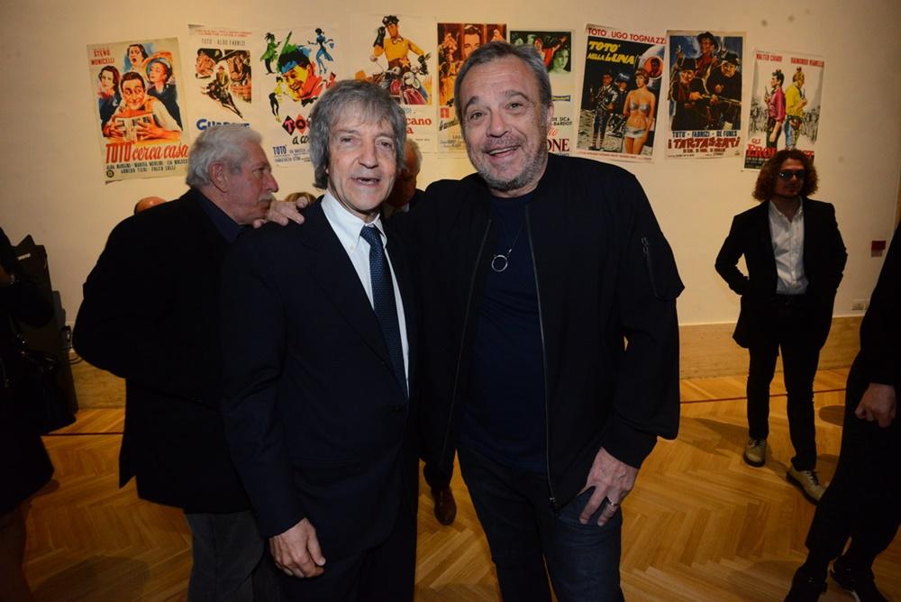 Carlo Vanzina e Claudio Amendola