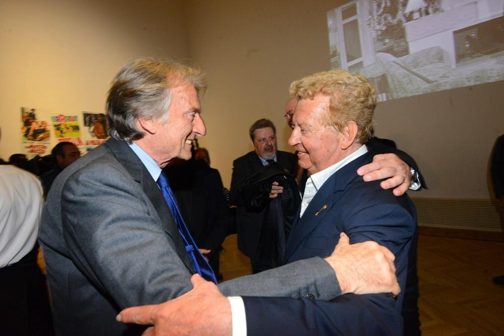 Luca Cordero di Montezemolo e Mario Cecchi Gori Steno