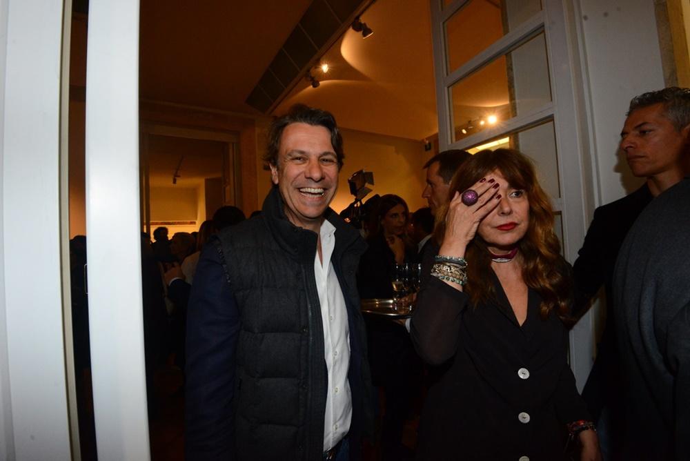 Nicola Porro e Camilla Morabito