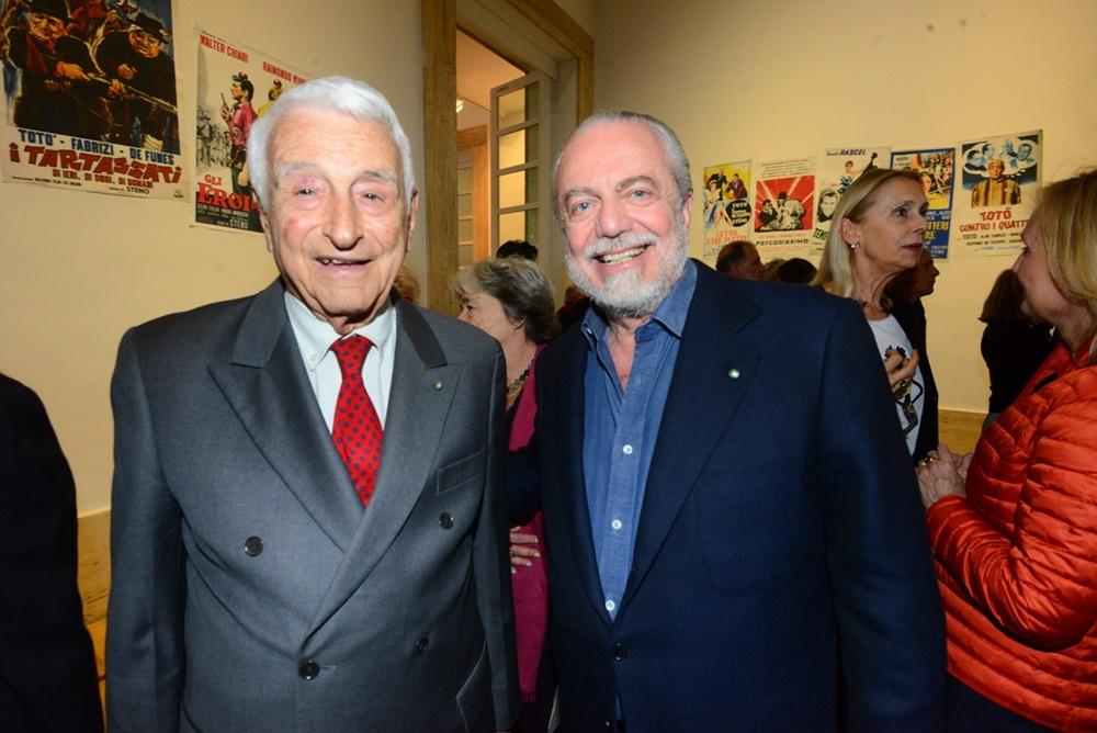Fulvio Lucisano e Aurelio De Laurentiis