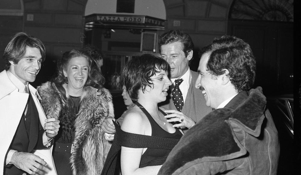 Liza Minnelli, Gene Hackman, Luciana Paluzzi e Roger Moore (1975)