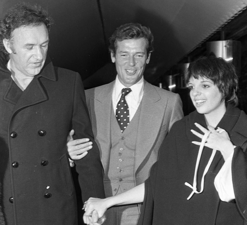 Liza Minnelli, Gene Hackman e Roger Moore (1975)