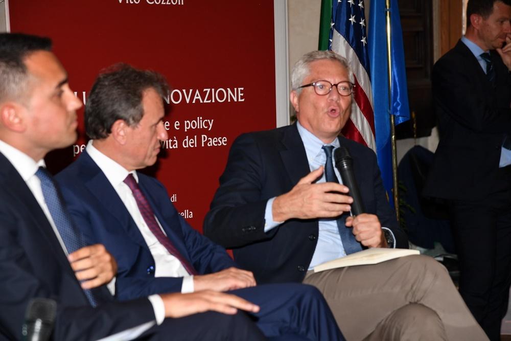 Luigi Di Maio, Vito Cozzoli e Giovanni Pitruzzella