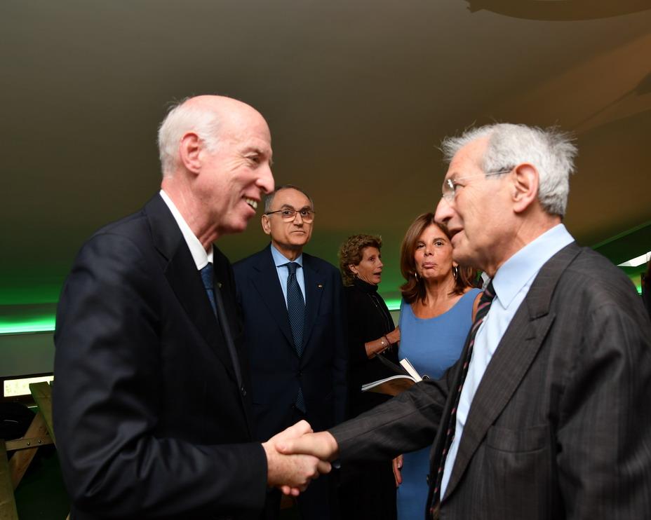 Carlo Mosca e Luciano Violante