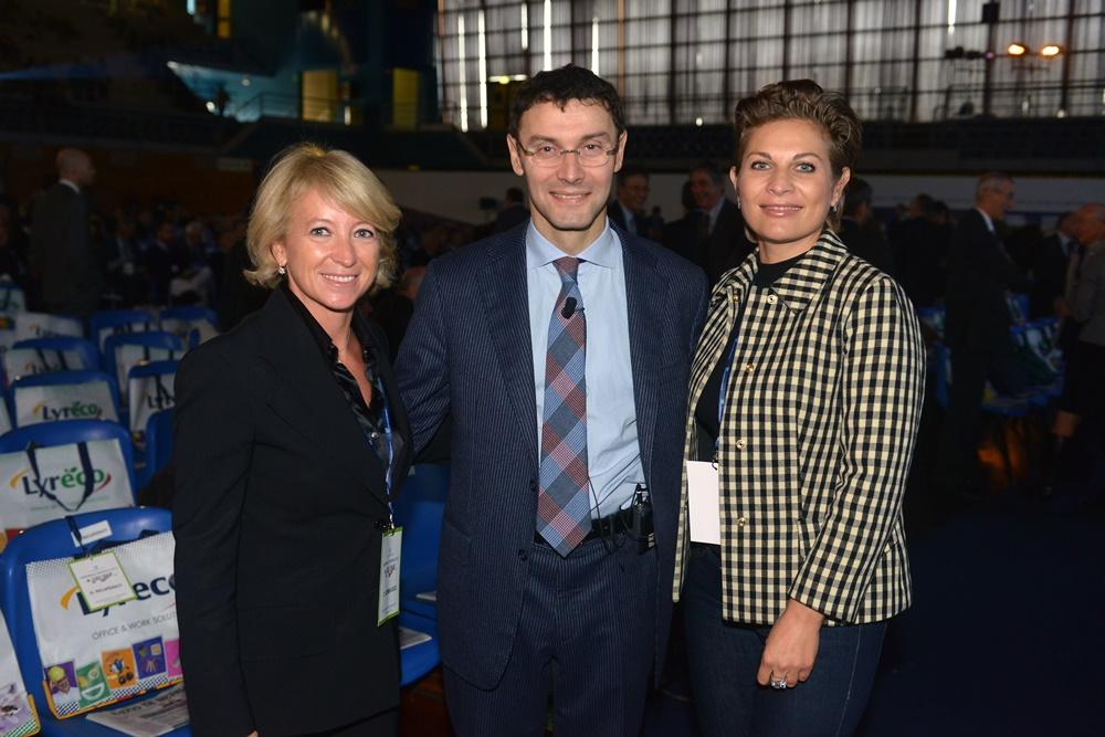 Cristina Bombassei, Stefano Paleari e Monica Santini