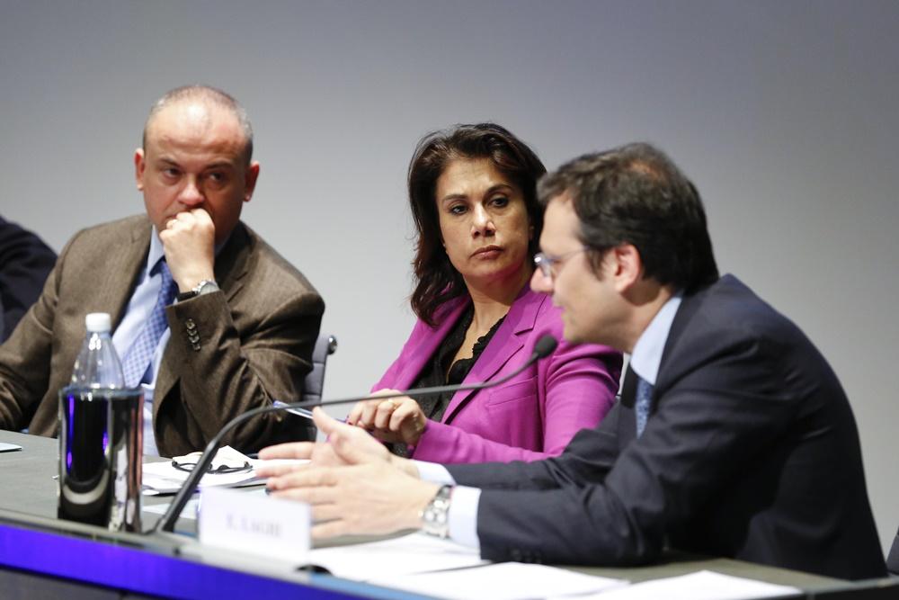 Filippo D'Aquino, Marina Scandurra ed Enrico Laghi