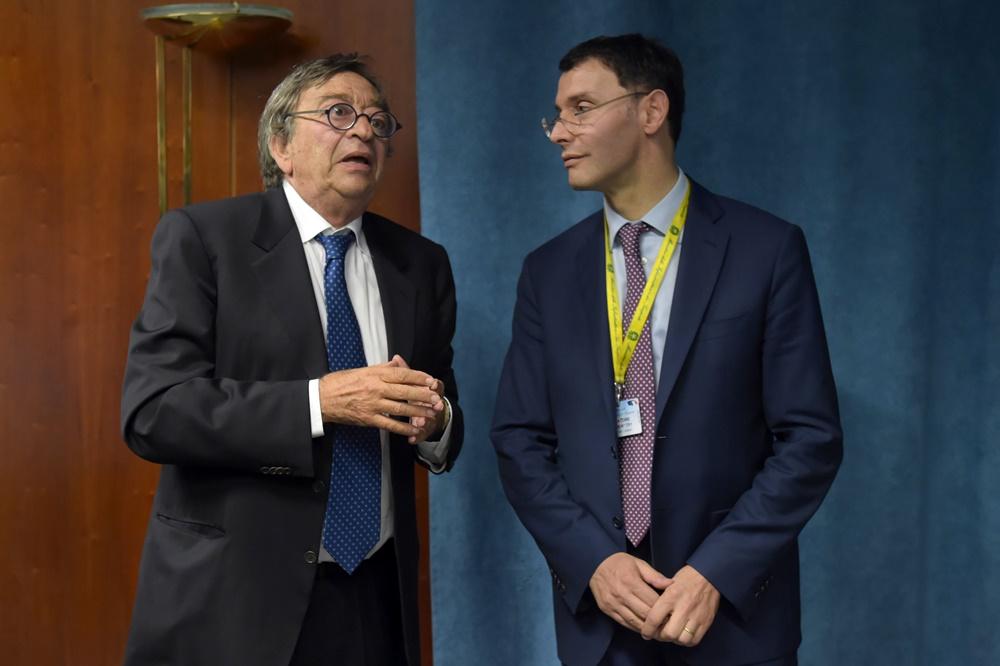 Vito Riggio e Stefano Paleari