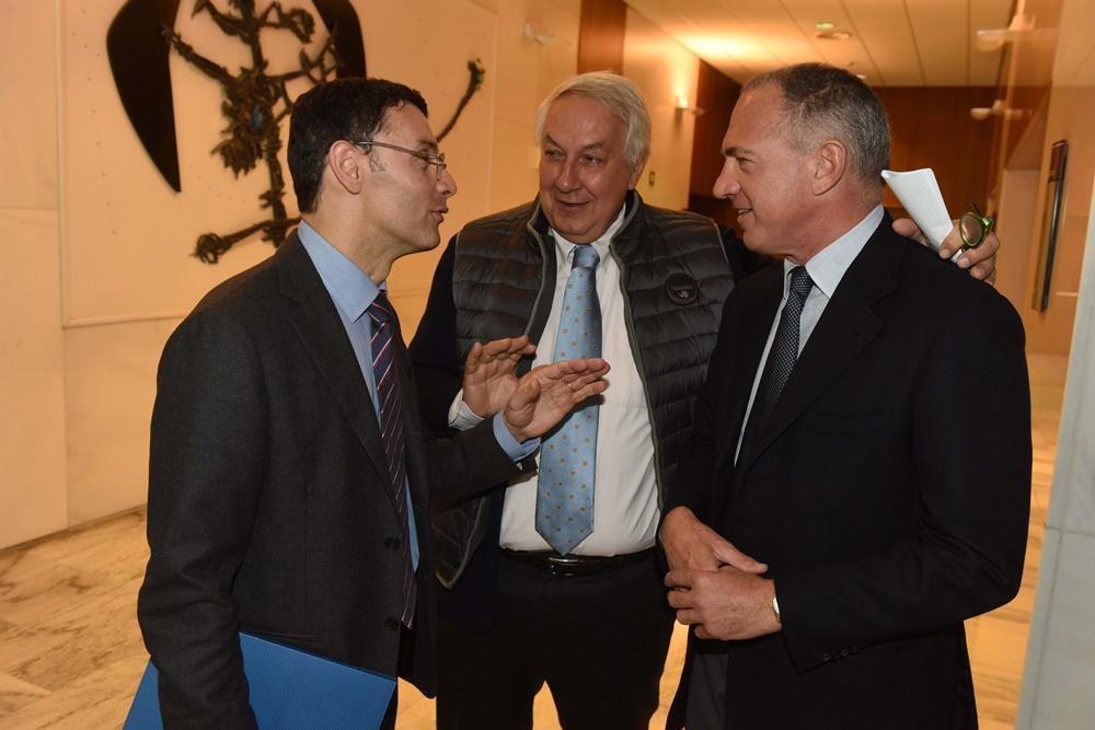 Stefano Paleari, Alberto Meomartini, Sergio Dompè