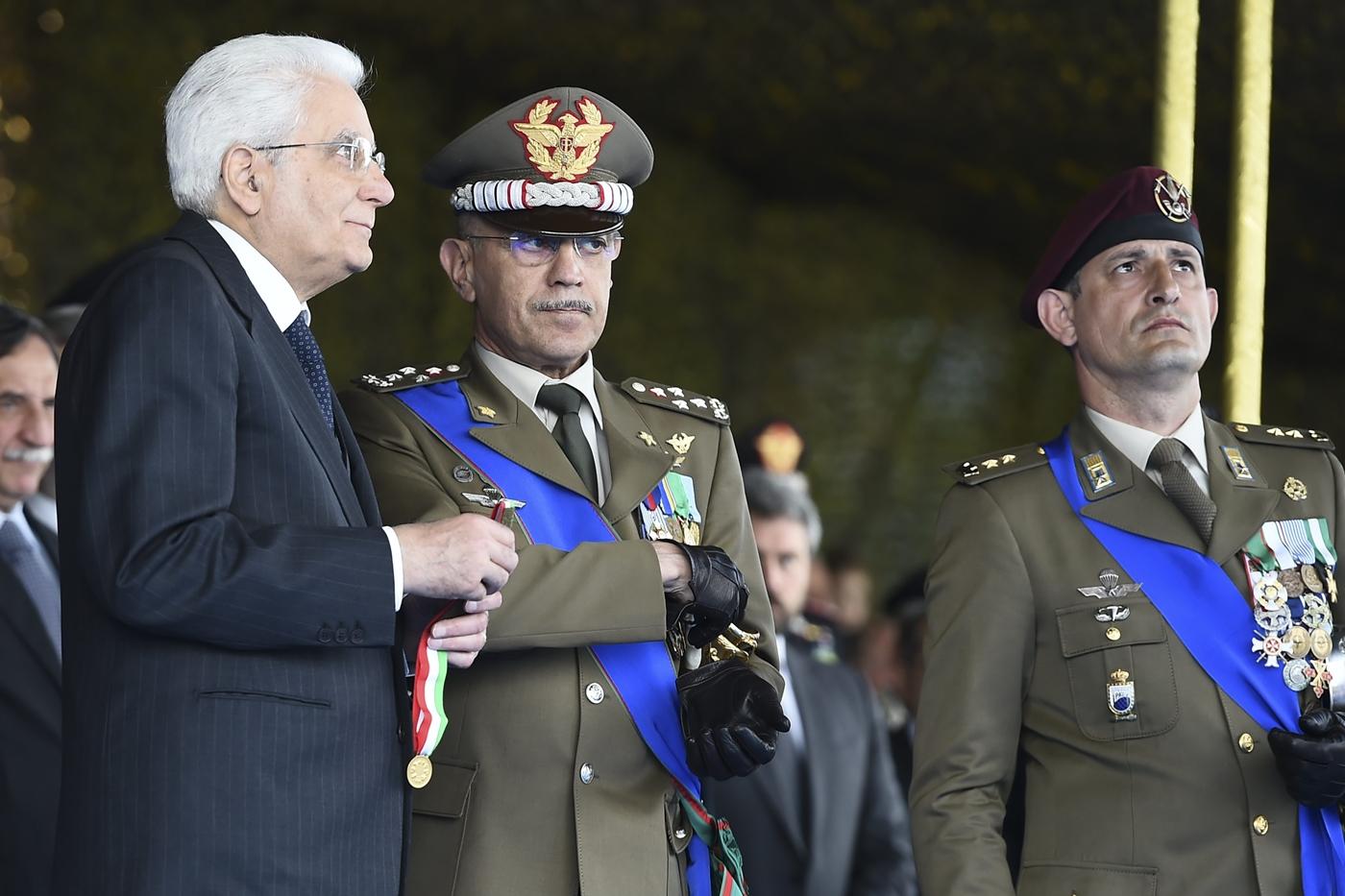 Sergio Mattarella e Danilo Errico
