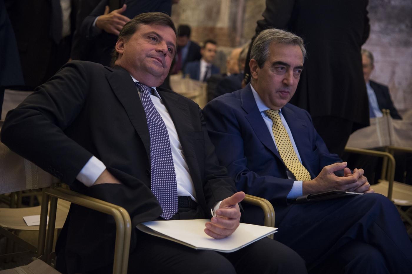Carlo Calenda e Maurizio Gasparri