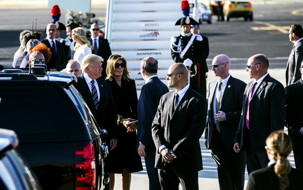 Donald Trump e Melania Trump