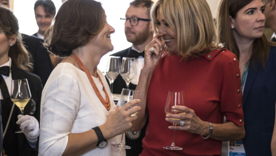 Emanuela Mauro Gentiloni, Brigitte Marie Claude Trogneux Macron