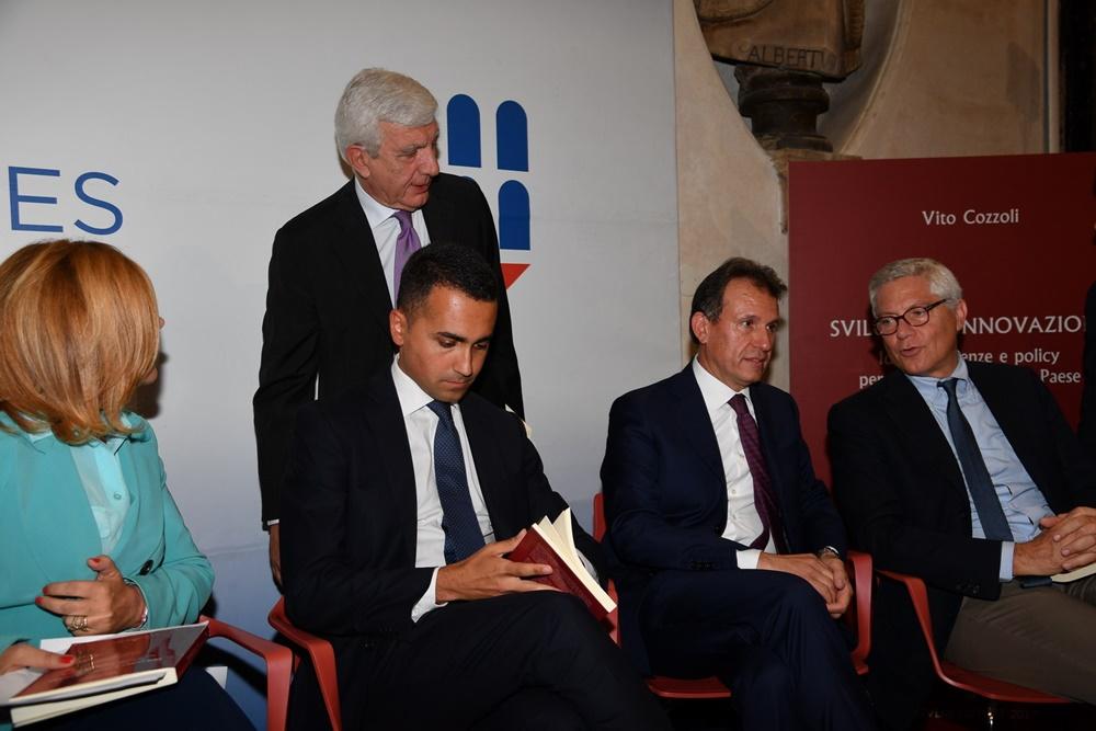 Maria Latella, Gianni De Gennaro, Luigi Di Maio, Vito Cozzoli e Giovanni Pitruzzella