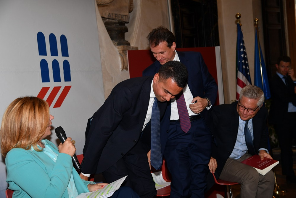 Maria Latella, Luigi Di Maio, Vito Cozzoli e Giovanni Pitruzzella