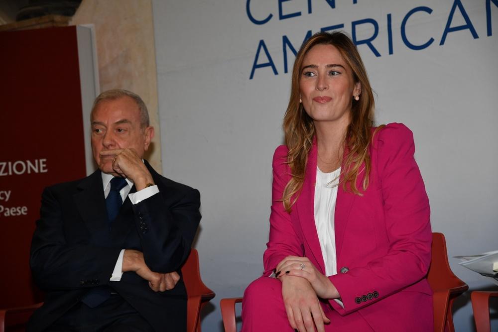 Gianni Letta e Maria Elena Boschi