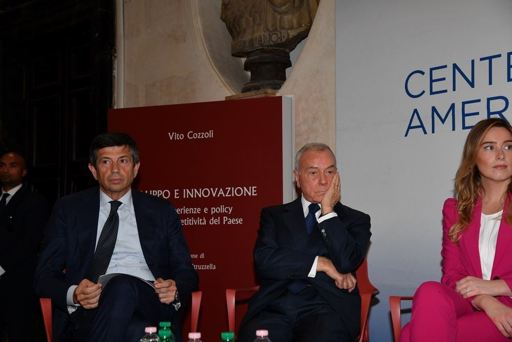 Maurizio Lupi, Gianni Letta e Maria Elena Boschi