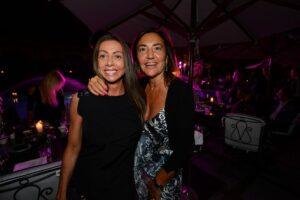 Mariarosaria Rossi e Renata Polverini pizzicate da Pizzi. Foto d'archivio