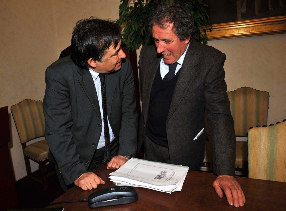 Leoluca Orlando e Francesco Pancho Pardi (2008)