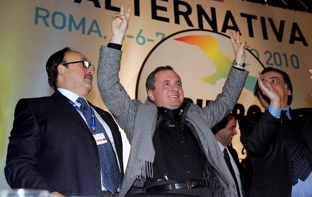 Felice Belisario, Gioacchino Genchi e Leoluca Orlando (2010)