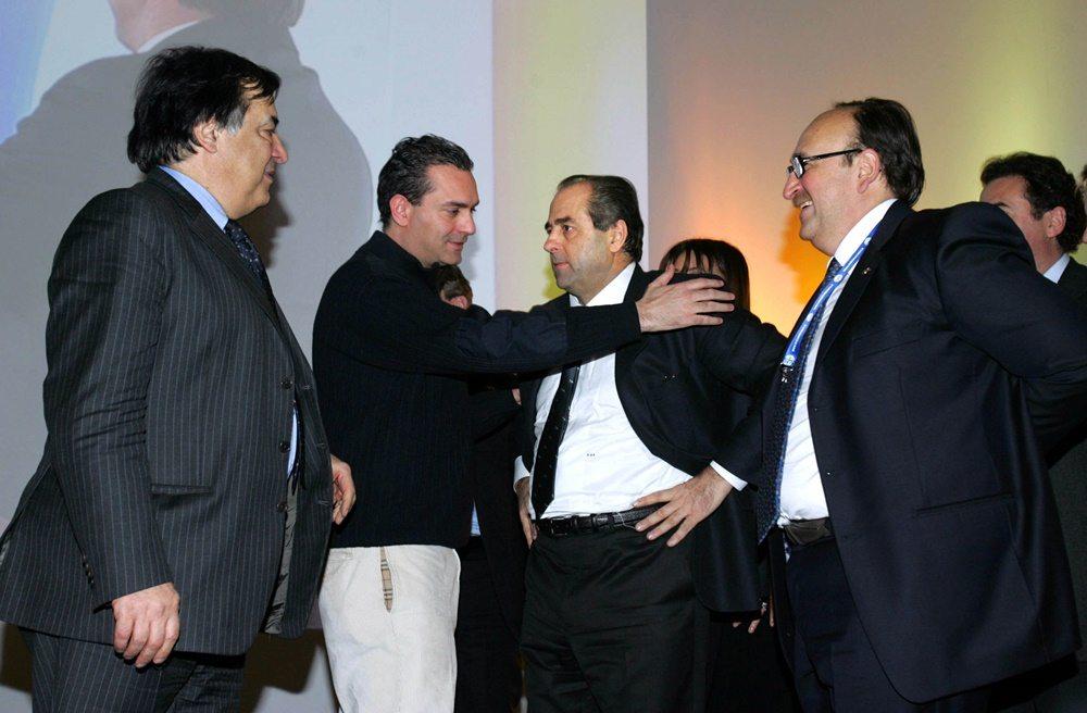 Leoluca Orlando, Luigi De Magistris, Antonio Di Pietro e Felice Belisario (2010)