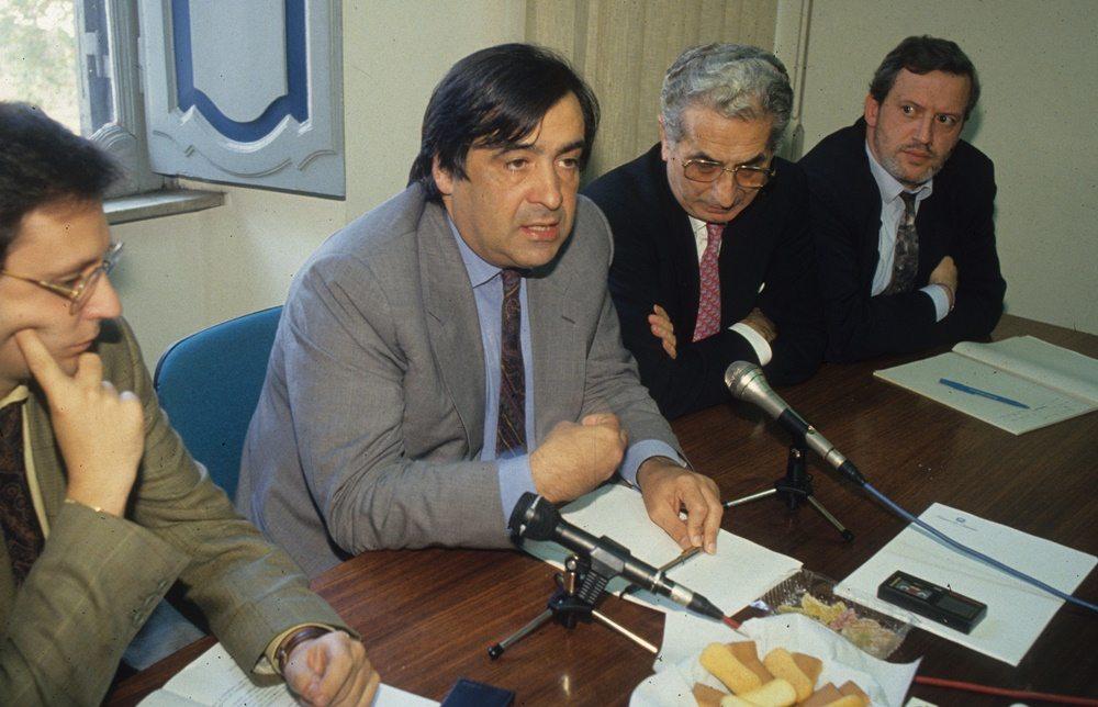 Leoluca Orlando e Diego Novelli Inverti (1993)
