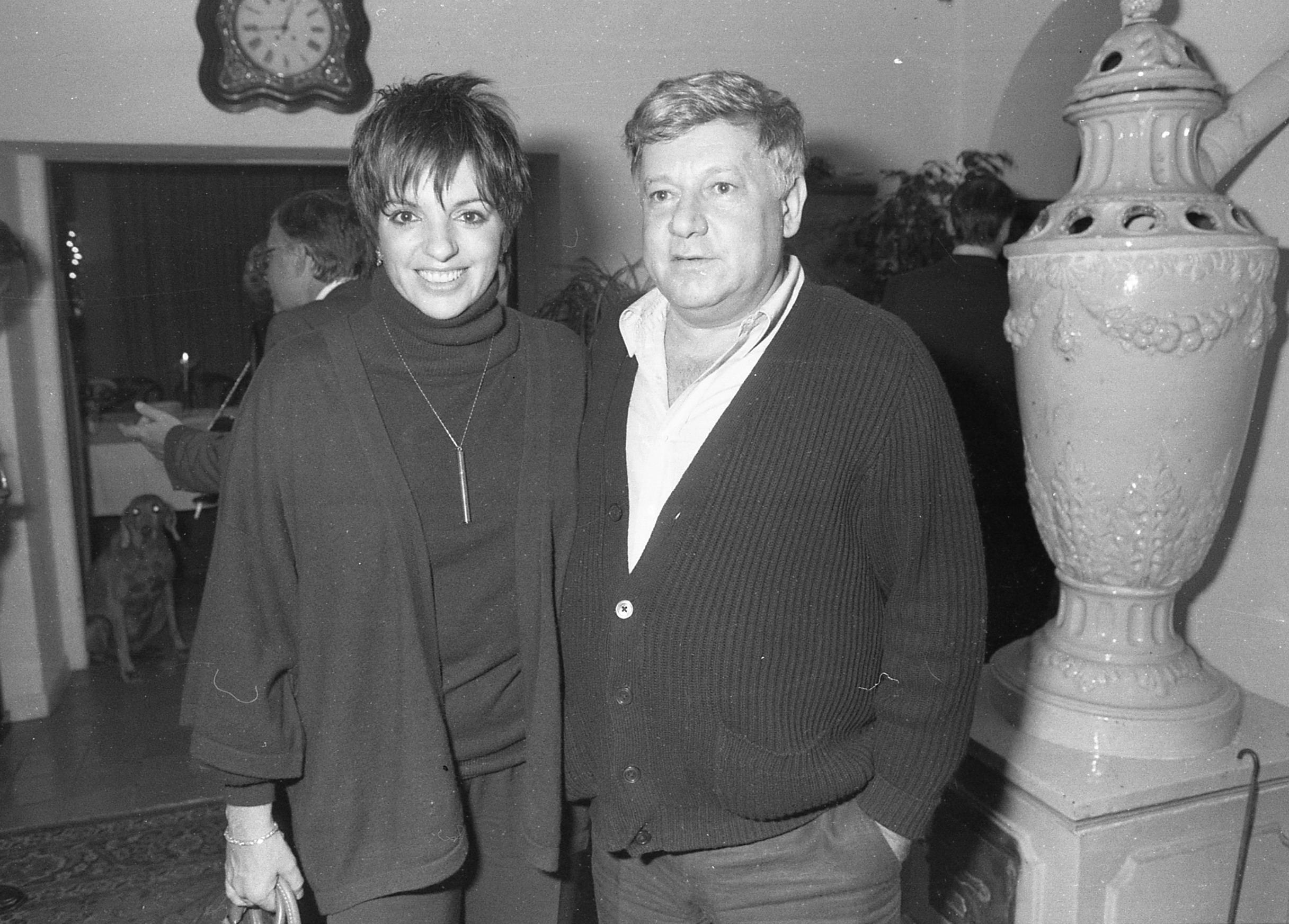 Liza Minnelli e Paolo Villaggio