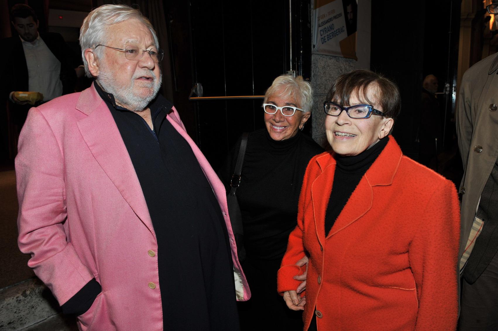 Paolo Villaggio e Lina Wertmüller